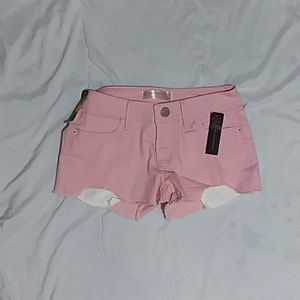 Light Pink Short Shorts